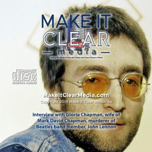 Interview with Gloria Chapman, wife of Mark David Chapman, murderer of Beatles band member, John Lennon