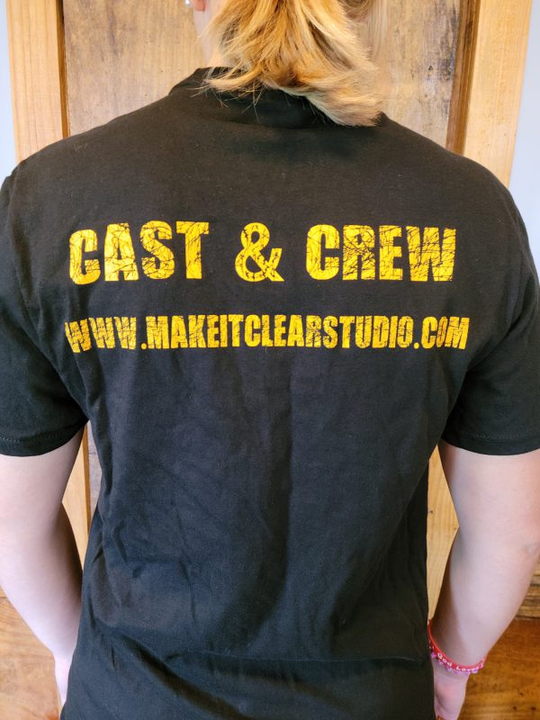 Trafficked Cast and Crew T-Shirt (Size Medium)