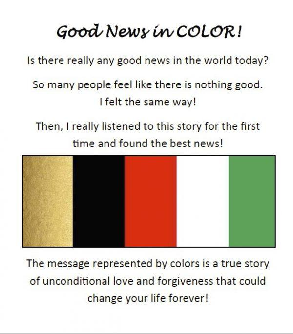 Good News in Color Tract (Pack of 100)